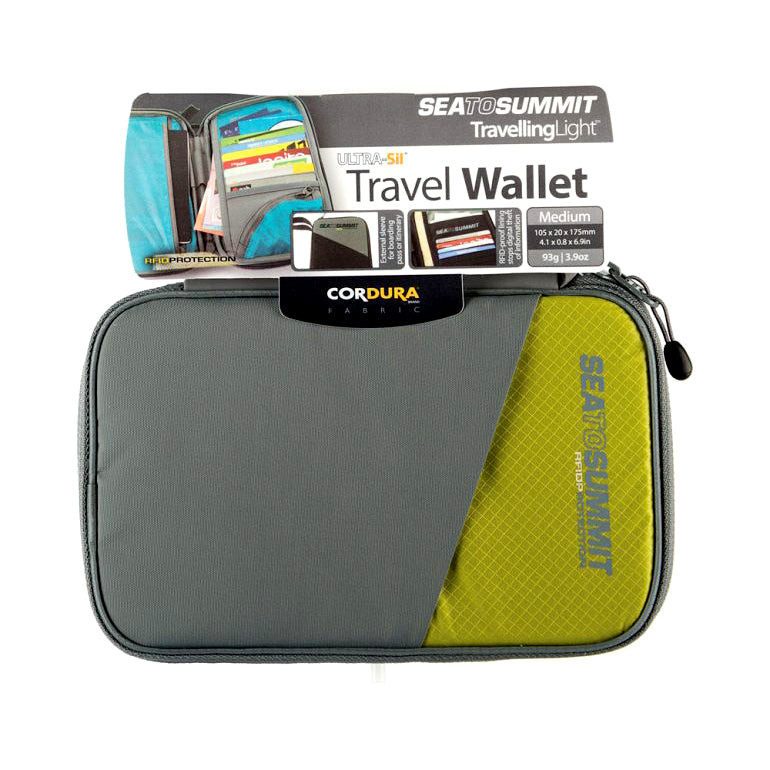 Travel Wallet Rfid Medium Lime [ATLTWRFIDMLI_STOCK]