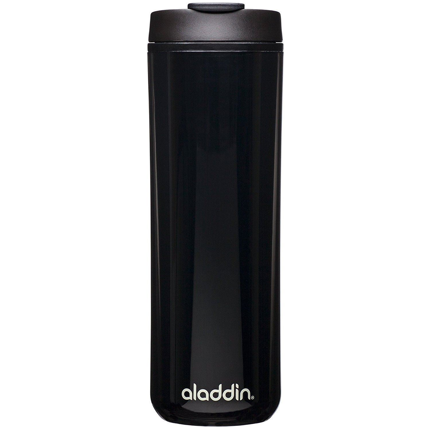 Insulated Plastic Mug 0.47L Black [10-01918-054_STOCK]