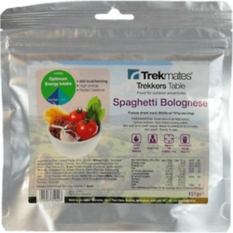 Trekkers Table Pasta Bolognese - 1 Person [FOO-TT-X10481_STOCK]