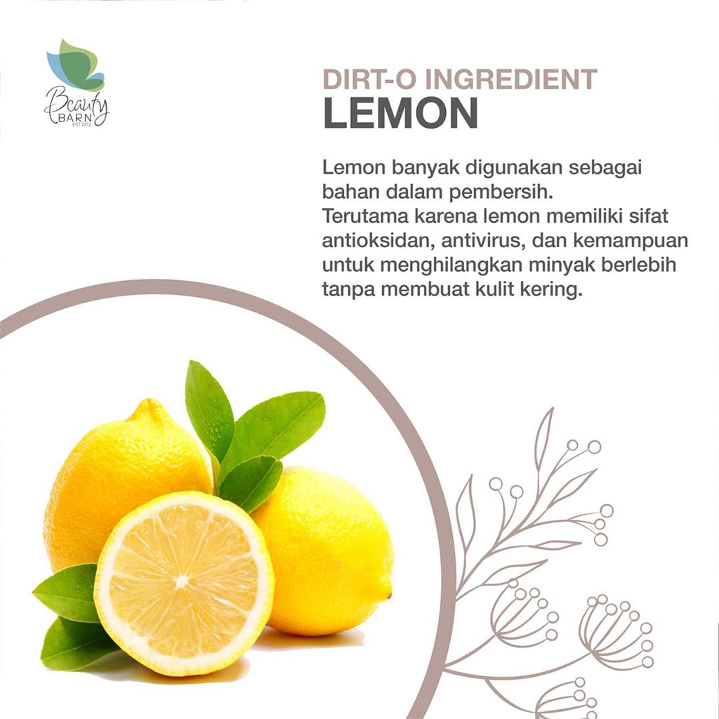 "Dirt-O Ingredient ""LEMON"""