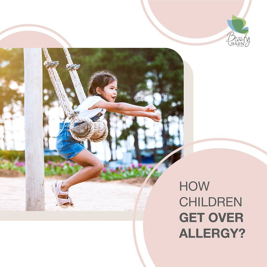 How Children GET OVER ALLERGY ?