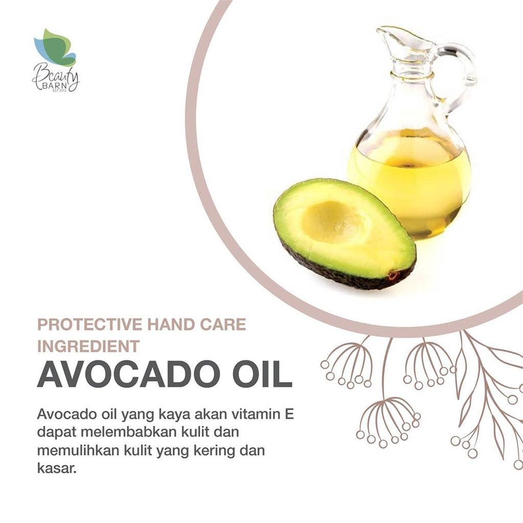 "Protective Hand Care Ingredient ""AVOCADO OIL"""