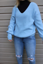 Load image into Gallery viewer, Light Blue Sweater