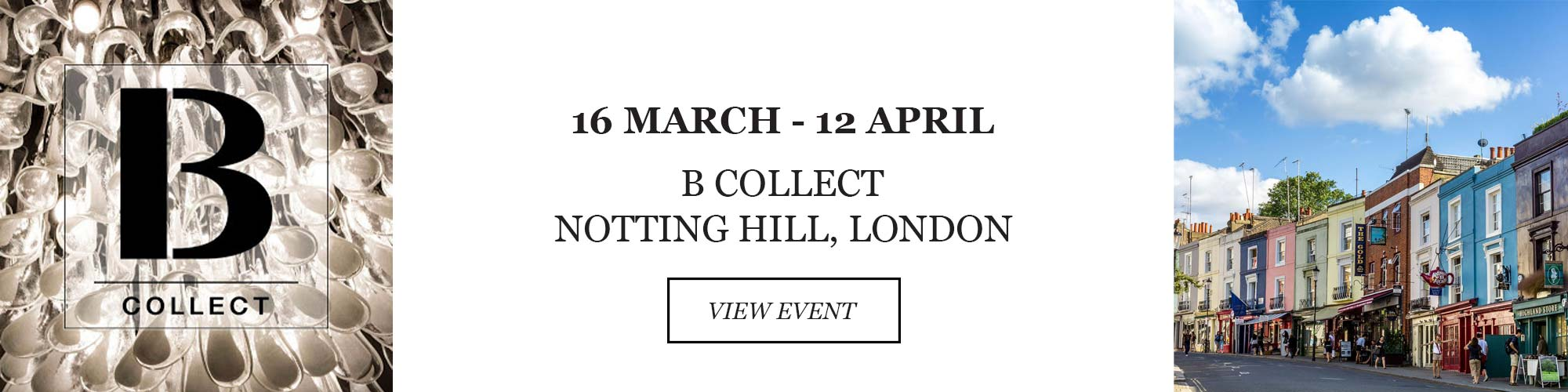 b collect notting hill london pop up