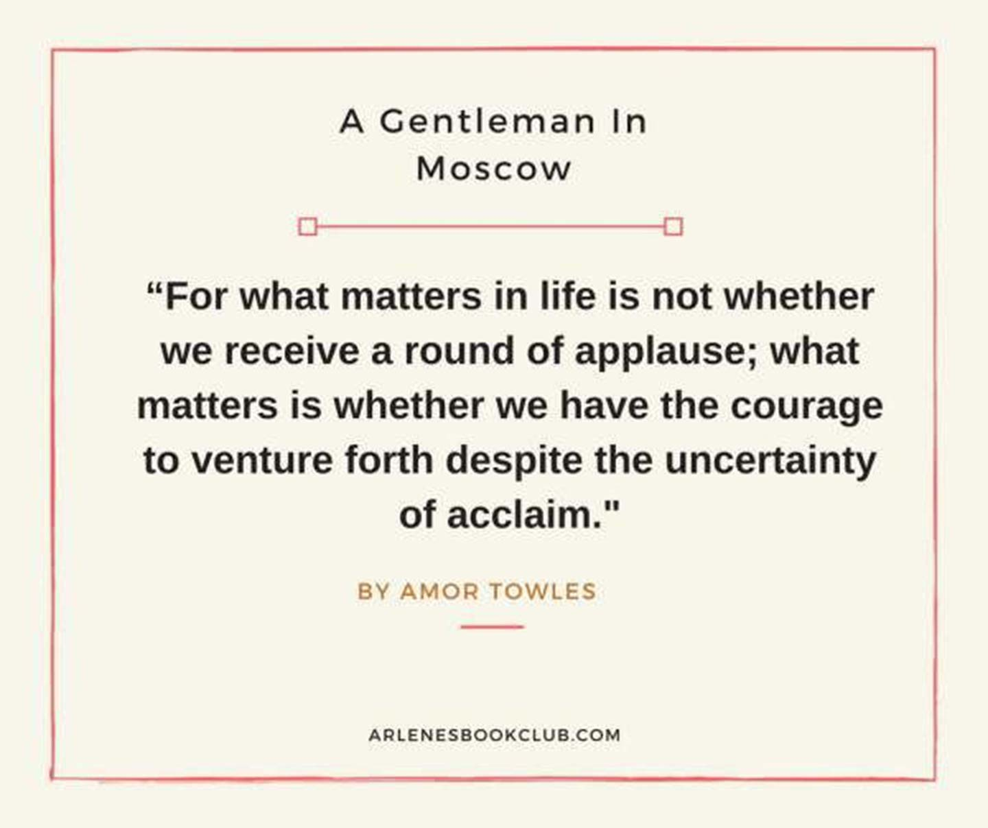 book club review december 2019 a gentleman in moscow