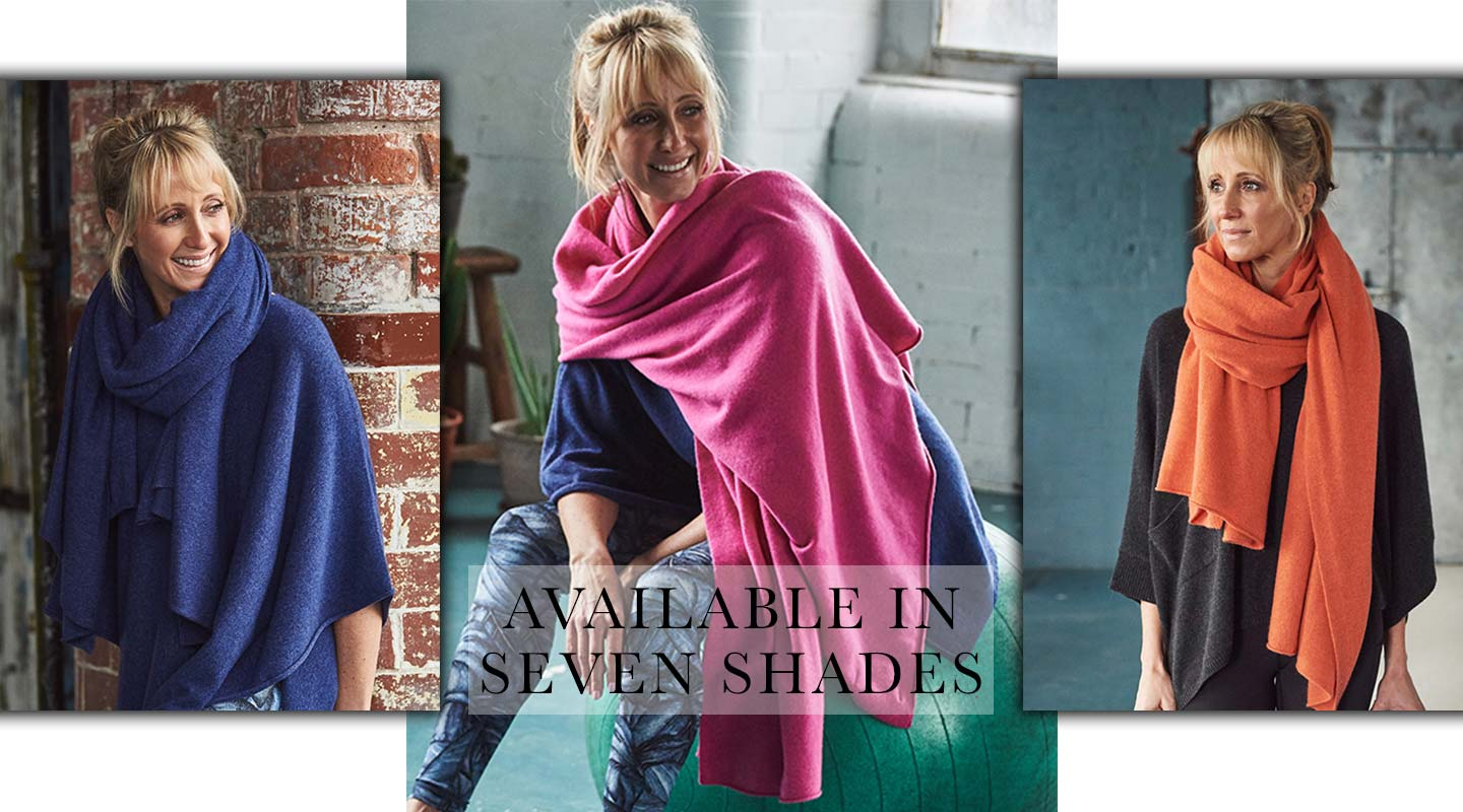 cashmere travel wrap colours