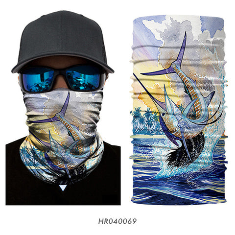 Fish 3D Face Mask