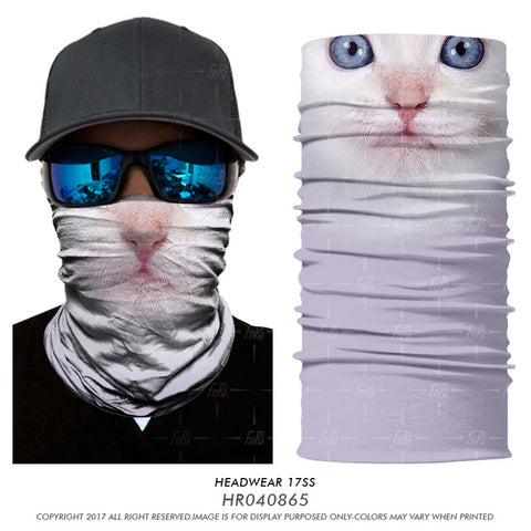 Cat 3D Face Mask