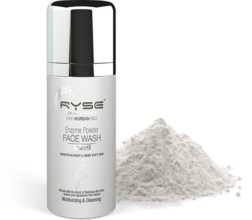 Organic Paraben Free Enzyme Powder Face Wash