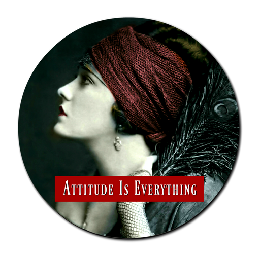 Attitude Is Everything - Pocket Mirror