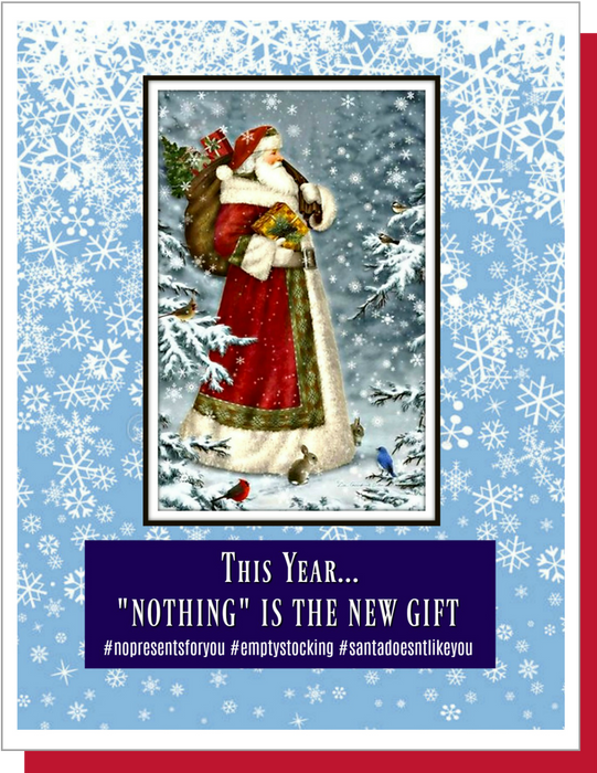 """Nothing"" Is The New Gift"
