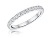 STERLING SILVER  FULL ETERNITY RING SET WITH CUBIC ZIRCONIA STONESRings - JOOLS By Jenny Brown