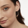 Sterling Silver Pull Through Twisted Wave EarringsEarrings - JOOLS By Jenny Brown