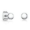 Sterling Silver Plain Circle Stud EarringsEarrings - JOOLS By Jenny Brown