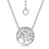 Sterling Silver Tree Of Life NecklacePendants - JOOLS By Jenny Brown