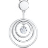Sterling-Silver-Pendant-With-Three-Silver-Rings-With-A-Suspended-Cubic-Zirconia-Centre-Stone-