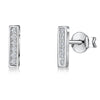 sterling-silver-rectangle-cubic-zirconia-set-earrings