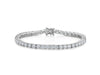 Sterling Silver 10.25 Carat Tennis Bracelet Set With The Finest Cubic Zirconia StonesBracelets - JOOLS By Jenny Brown