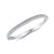 Sterling Silver Bangle Half  Pave Set Eternity Style Set With Cubic Zirconia Stones