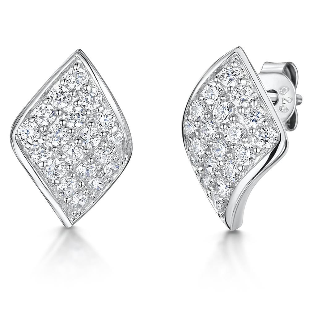 236d698bc Earrings Diamond Shaped - Pave Set | JOOLS By Jenny Brown