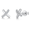 Sterling Silver Kiss Stud EarringsEarrings - JOOLS By Jenny Brown