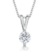 Sterling Silver 1 Carat Solitaire PendantPendants - JOOLS By Jenny Brown