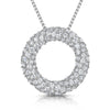 Sterling-Silver-Pave-Sert-Garland-Circle-Pendant-Fully-Set-With-White-Cubic-Zirconia-Stones