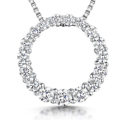 Sterling-Silver-Open-Circle-Encrusted-With-White-Brilliant-Cut-Cubic-Zirconia-Stones