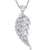 Sterling Silver Pendant- Beautiful Single Angel Wing