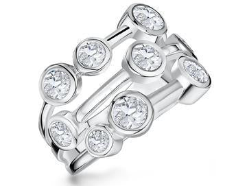 Sterling Silver Boodles Style  Raindance RingRings - JOOLS By Jenny Brown