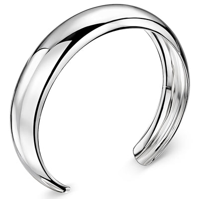 Sterling Silver Dome High Polished  BangleBangles - JOOLS By Jenny Brown