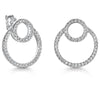 Sterling-Silver-Twin-Circle-Overlapping-Stud-Earrings