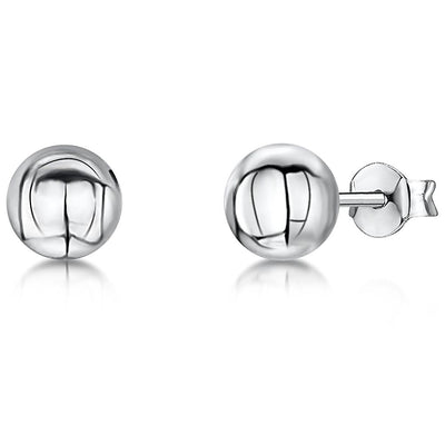 Sterling Silver Ball 6 MM  Stud EarringsEarrings - JOOLS By Jenny Brown