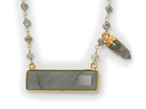 Labradorite Necklace - Jewelry & Watches