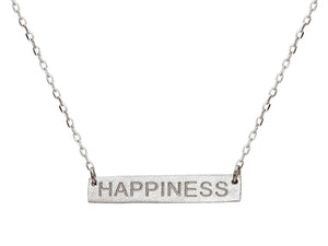 Happiness Bar Necklace - Jewelry & Watches