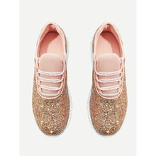 Glitter Lace Up Trainers - Shoes, Booties