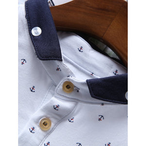 Men Ringer Polo Shirt - Men - Apparel - Shirts - Blouses