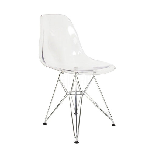 DSR Eiffel Clear/Transparent Chair - Home - Furniture