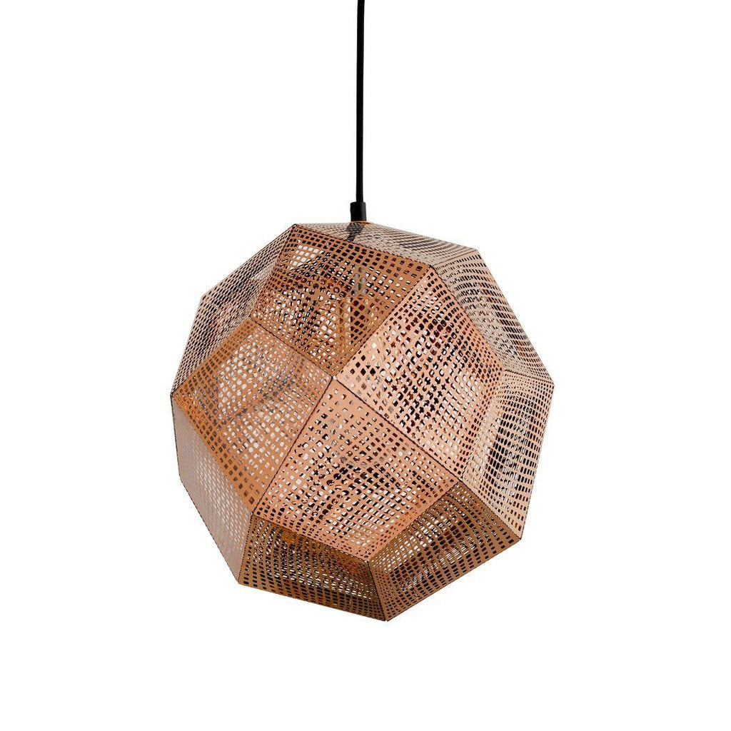 Etch Shade Pendant - Rose Gold - Home - Furniture