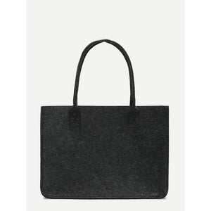 Minimalist Tweed Tote Bag - Women - Bags - Totes