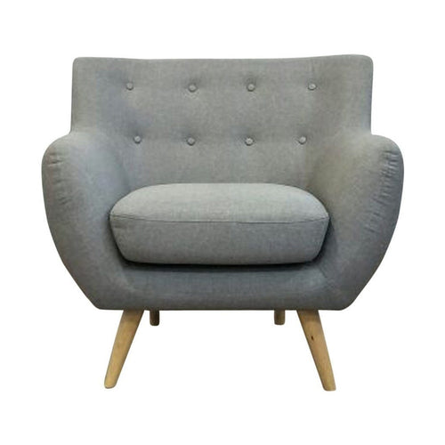 Ebba Armchair - Light Grey - Home - Furniture