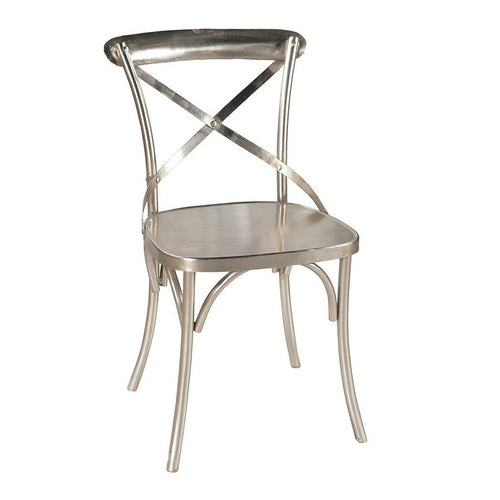 X Cross Back Dining Chair - Iron - Home - Furniture