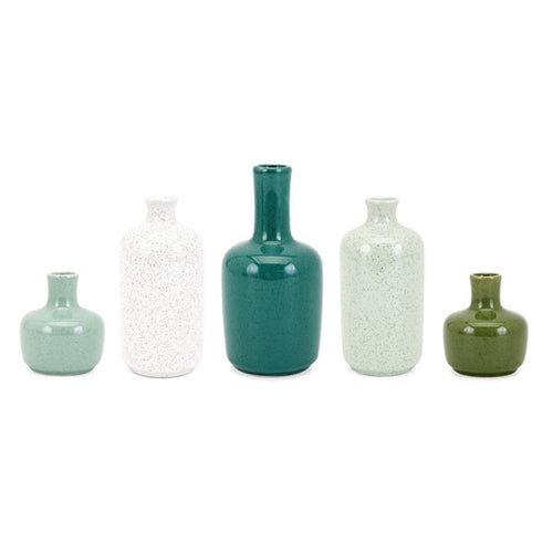 Mini Bottle Stoneware Accessories - Home Decor