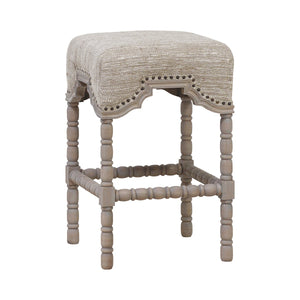 Detailed Leg Backless Counter Stool - Home - Furniture