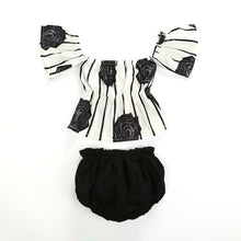 Black and White Newborn Two Piece - Clothing Sets