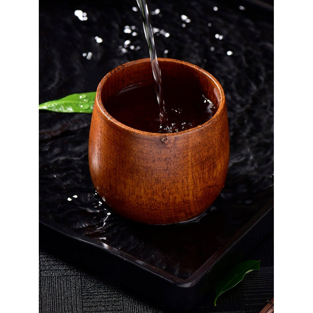 Carved Wood  Coffee Mug - Home - Homeware