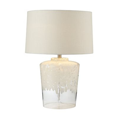 Flurry White Table Lamp - Lighting