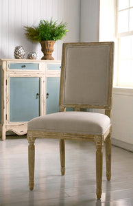 Square Back Dining Chair - Home - Furniture