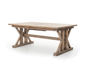 Extendable Wood Dining Table - Furniture