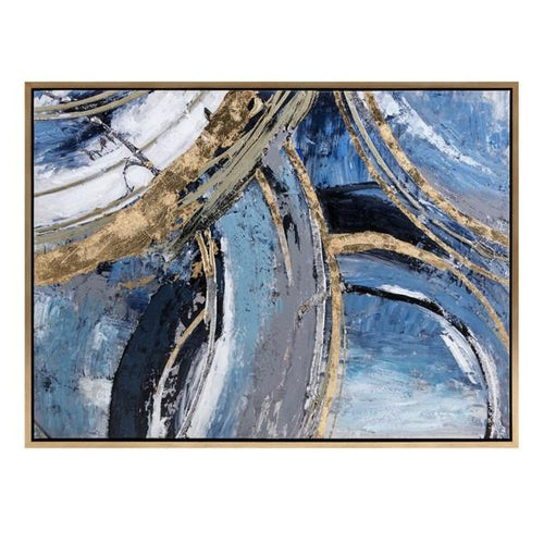 Abstract Framed Wall Decor - Home Decor